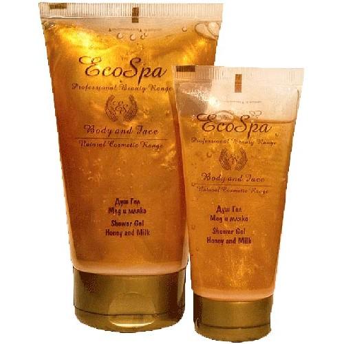EcoSpa: Душ гел Мед и Мляко
